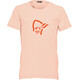 Norrøna Junior /29 Cotton Logo T-Shirt World Peach